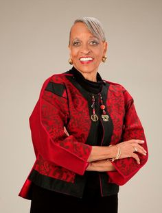 Johnnetta B. Cole, Director of the Smithsonian Institution's National Museum of African Art!    Dr. Cole was the first African American female president of Spelman College from 1987-1997. She was also president of Bennett College from 2002-2007.