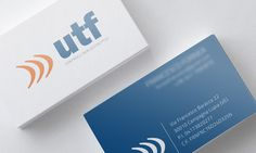 UTF on Behance by Endea #inspiration #brandidentity #bigliettodavisita