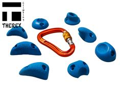 climbing holds, lezecké chyty, klettergriffe, presas de escalade Climbing Holds, Hold On, Mini