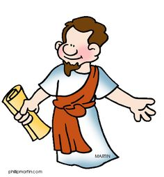 Free Bible Clip Art by Phillip Martin, Saint Paul