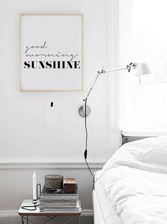 "« Good Morning Sunshine » inspiration motivationnelle imprimable affiche-matin soleil scandinaves affiches 70 x 100 cm, 50x70cm, 60x80cm, 24 x 36 ""x 10"""