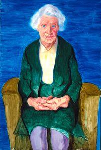 David Hockney Mum 1990 Those hands tell a story. Portraits, Portrait Art, Portrait Paintings, Robert Rauschenberg, Edward Hopper, Paul Klee, David Hockney Paintings, Caricature, Pop Art Movement