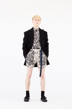 Cédric Charlier Spring 2018 Menswear Collection - Fashion Unfiltered