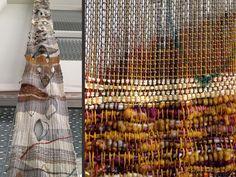 juliet martin, fiber art, saori, fine art, weaving, v is not for... , warp, painting
