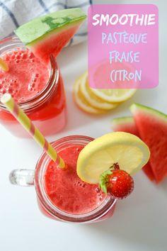 des fruits et des légumes smoothie pastèque fraise citron-1-4