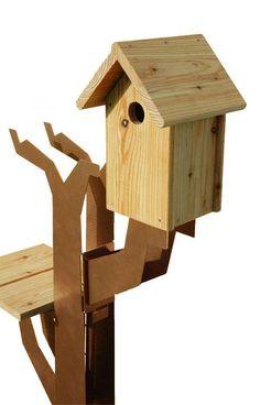Vogelboomhut (vogelhuis) - Maandag Meubels - Woonwebwinkel LiL.nl