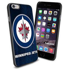 NHL HOCKEY Winnipeg Jets Logo, Cool iPhone 6 Smartphone Case Cover Collector iphone TPU Rubber Case Black Phoneaholic http://www.amazon.com/dp/B00UXJ6P66/ref=cm_sw_r_pi_dp_4GFnvb13ERWB7