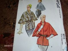 VTG Sewing Pattern - McCALL #8215 - Size Medium 14-16 - Cut/Complete