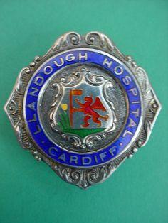 Llandough Hospital nursing badge. Cardiff!