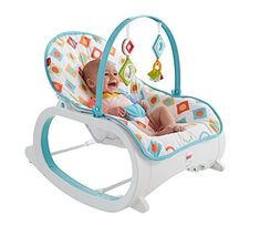 Fisher-price Infant To Toddler Rocker Pink│space For Playing,feeding,resting│new Baby Gear