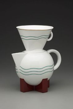 Michael Graves, The Big Dripper Coffee Pot and Filter, ca. 1985. Yale University Art Gallery