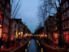 Amsterdam, red light district March 2012
