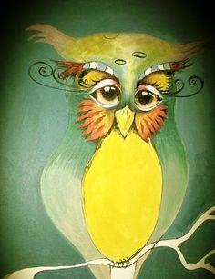 owl by Deb Buxton