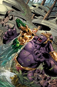 Aquaman vs Grodd | #comics #dc #aquaman