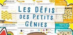 Les Défis des Petits Génies : du projet à sa réalisation !
