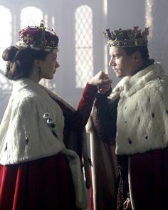 The Tudors - queen Anne Boleyn and king Henry VIII