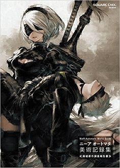 NieR:Automata World Guide Art Collection ニーア オートマタ 美術記録集 ≪廃墟都市調査報告書≫ (SE-MOOK) [JAPANESE EDITION Game Book ]: スクウェア・エニックス, SQUARE ENIX, NieR:Automata: Amazon.com: Books