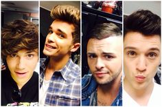 Aren't they the hottest boys ever?? Union J selfies at Capital STB