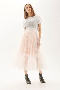 Topshop PETITE Giant Tutu Skirt Found on my new favorite app Dote Shopping White Tutu, Pink Tutu, Topshop Sale, Billboard Women In Music, Ballet Tutu, White Skirts, Dresses For Sale, Lace Skirt, Womens Fashion