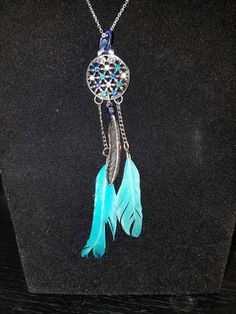 Check out this item in my Etsy shop https://www.etsy.com/uk/listing/455248850/dream-catcher-necklace-dream-catcher