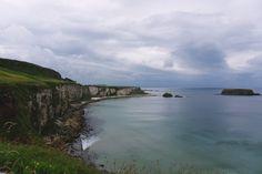 Northern Ireland coast near Ballintoy, County Antrim