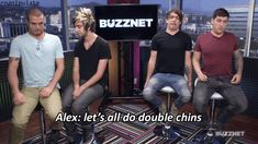 Fairly sums up All Time Low - Its funny because Zack cant do it because he doesnt have fat