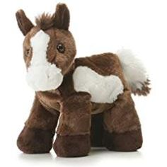 Aurora Plush Paint Horse Flopsie. *** Check out the image by visiting the link. We are a participant in the Amazon Services LLC Associates Program, an affiliate advertising program designed to provide a means for us to earn fees by linking to Amazon.com and affiliated sites.