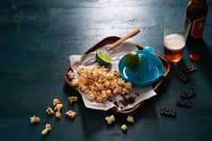 Sichuan pepper and lime popcorn