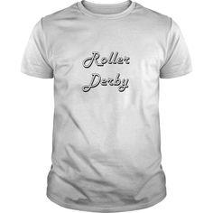 (New Tshirt Choose) Roller Derby Classic Retro Design [Tshirt Sunfrog] Hoodies, Tee Shirts