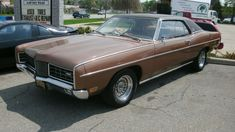 We used to have one of these when I was a kid  Ford LTD 1969