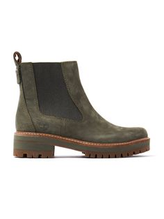 e1a381580115c Timberland Women s Courmayeur Valley Chelsea Boots – Olive