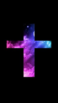 Nothing But Design For Phone Jesus Cross Galaxy Wallpaper On We Heart It