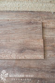 """Miss Mustard Seed found a great fit with the French Country Oak Plank from our Reclaimé collection. """"It's a perfect balance of neutral and not-boring,"""" she says. """"It has a great neutral grayish-brown color, but it has interesting graining."""""""