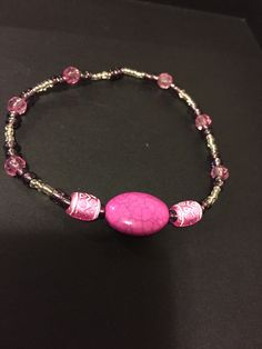 Just made this. I love it! Bead bracelet.