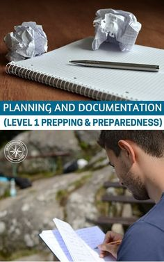 Planning and Documentation (Level 1 Prepping & Preparedness) - This article is brief but it is a great reminder of the fact that you can only get so much done with your mouth and you mind. Its very important for you to also write down goals. You need to hold yourself accountable. Goals and plans need to be written down and stored for the time when you need them most. Survival is about decisions making. Have tons of info on your side. #prepping #preparedness #shtf #survival