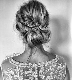 """4,978 Me gusta, 45 comentarios - Sandra Majada (@invitada_perfecta) en Instagram: """"Muy fan de los recogidos de @sabrinadijkman  . . #peinado #peinados #hairstyle #recogido…"""""""