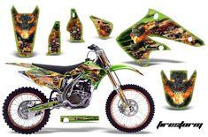 Kawasaki KX250F 2004-2005 Graphics Kit Deadpool, Motorcycle, Graphics, Kit, Vehicles, Motorbikes, Graphic Design, Motorcycles, Car