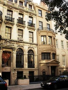 apartments on the Upper West Side - one of my favorite places in the world