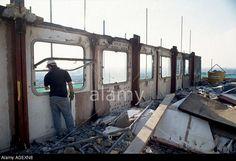 Demolition of Hermes Point • Elgin Estate • Harrow Road • 1992