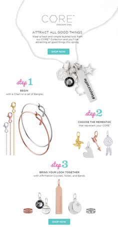 Layers on Layers:  create your core look at www.ginacapehart.origamiowl.com