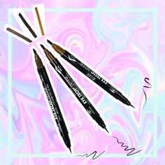 Achieve beautiful brow status & perfectly lined eyes! ✌️Do it all with one dual-ended pen from #milani     http://www.pick6deals.com/milani-eye-tech-define-2-in-1-brow-eyeliner-felt-tip.html