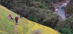 Hiking in Auburn State Recreation Area. Over 100 miles of hiking about 45 mins from Sacramento.