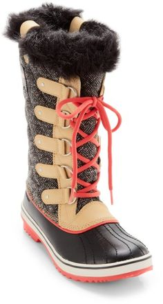 CURRY/JUICY HERRINGBONE #Sorel snow boots, oh next year I will have you!