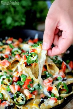 Jalapeno Ranch Black Bean Loaded Nachos 2