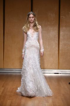 See more wedding dresses from Inbal Dror Bridal Fall 2017.