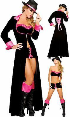 Sexy Pimp Halloween Costumes Women