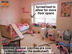 great inspiration to get my children's room together with the help IKEA.