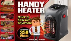 Handy heater alla prova: la stufa elettrica non convince per niente secondo altroconsumo.