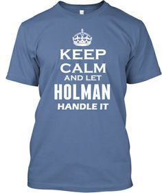For those who are a Holman only