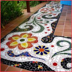 Mosaic Stone and Tile Work - More At FOSTERGINGER @ Pinterest